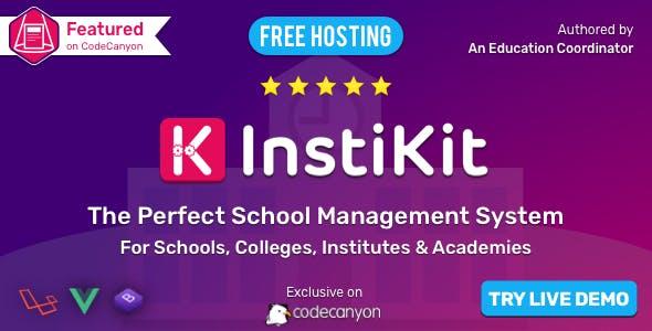 InstiKit School - School ERP for School, College, Institute and Academy