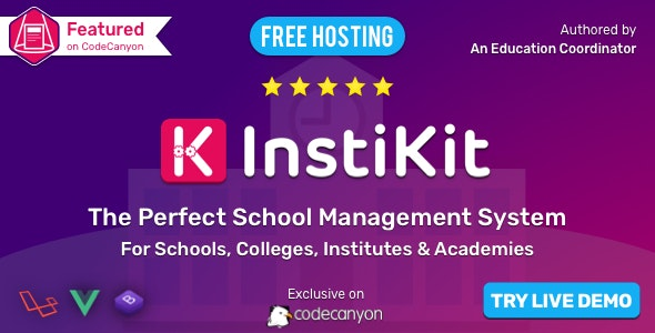 InstiKit School - School ERP for School, College, Institute and Academy - CodeCanyon Item for Sale
