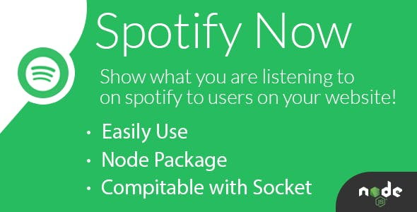 SpotifyNow - Get Current Playing Song on Your Spotify