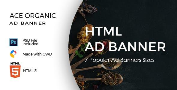 Ace Organic Google Ad Template