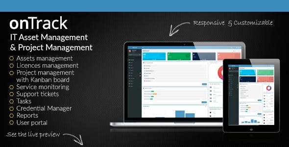 onTrack - IT Asset Management & Project Management