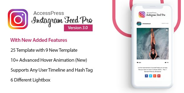 AccessPress Instagram Feed Pro - WordPress Responsive Instagram Feeds Plugin