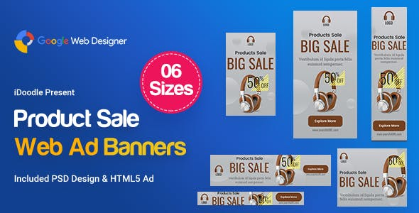 Product Sale Banners Ad