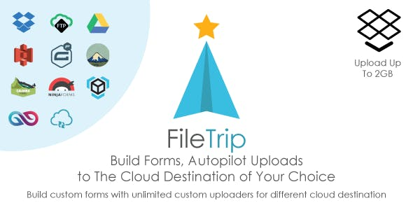 Filetrip | Easily upload to Dropbox + Google Drive + S3 + Wordpress