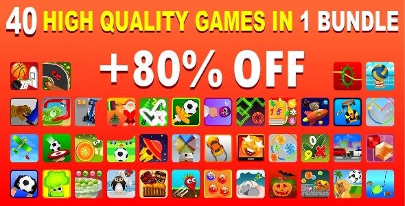 40 High Quality Games