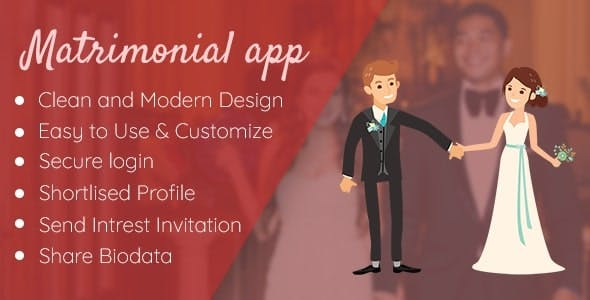 Matrimonial - Wedding app