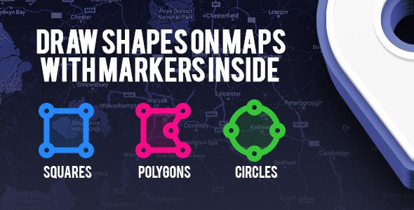 Map Explorer - Draw Shapes on Maps to load JSON Markers