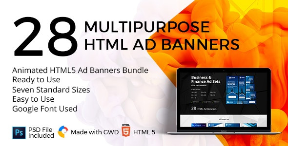 Business & Finance Google Ad Banners - CodeCanyon Item for Sale