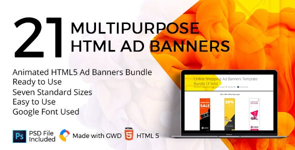Online Shopping Ad Banners Template