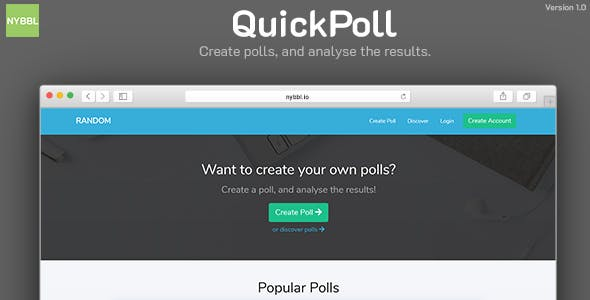 QuickPoll - Easy Poll Creator