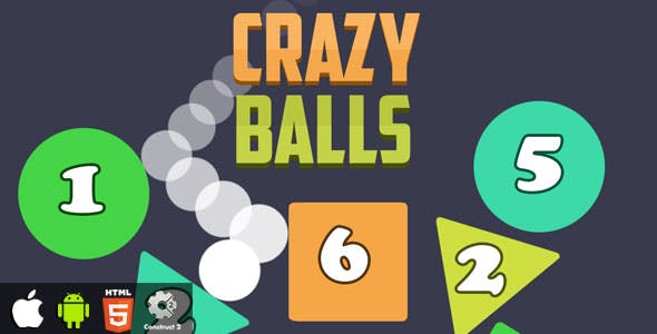 Crazy Balls - HTML5 Game (CAPX)