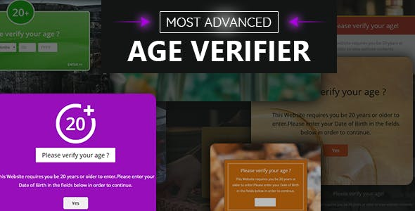 Age Verification System for WordPress