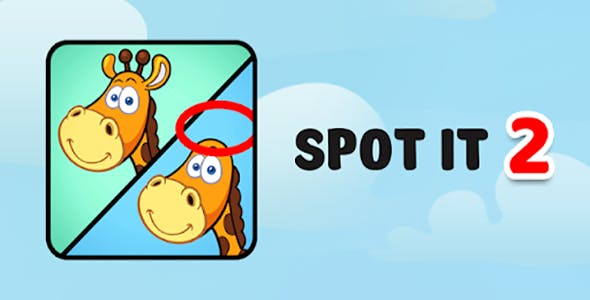Spot It - Admob - Android & Ios Game (Buildbox Included)