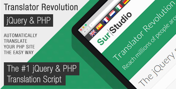 Ajax Translator Revolution Lite jQuery Plugin - CodeCanyon Item for Sale