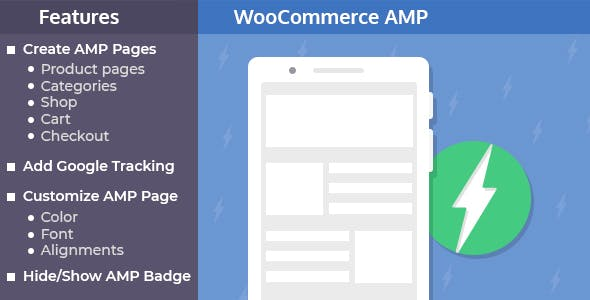 AMP Plugin for WooCommerce