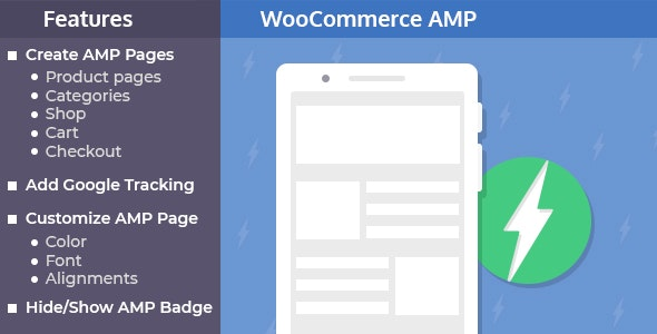 AMP Plugin for WooCommerce - CodeCanyon Item for Sale