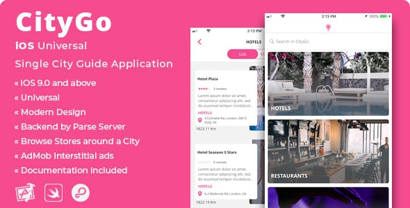 CityGo | iOS Single City Guide Store Finder Application - CodeCanyon Item for Sale