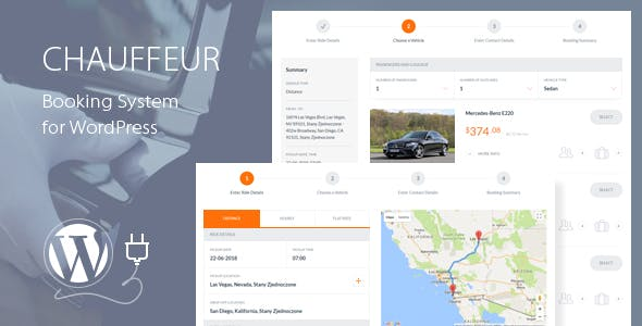 Chauffeur Booking System for WordPress        Nulled