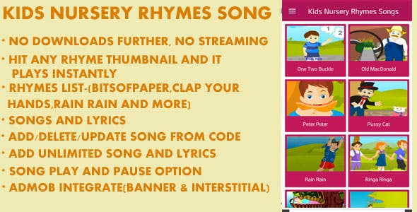 Kids Nursery Rhymes Song