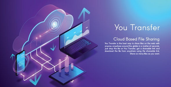 YouTransfer - Cloud based File Sharing Script - CodeCanyon Item for Sale