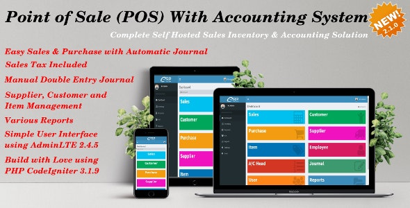 Point of Sale (POS) with Accounting System - CodeCanyon Item for Sale
