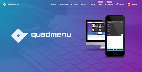 QuadMenu - Themes Developer Mega Menu - CodeCanyon Item for Sale