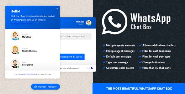 WordPress WhatsApp Chat Box