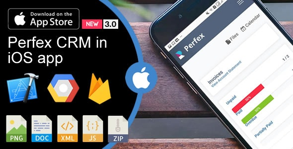 Weboox Convert - Perfex CRM to app iOS by weboox | CodeCanyon