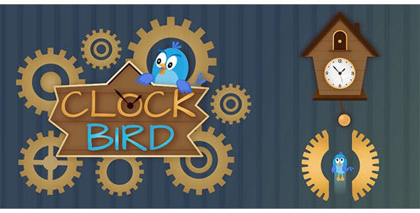 Clock Bird - Buildbox Template