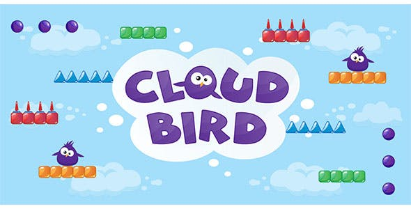 Cloud Bird - Buildbox Template