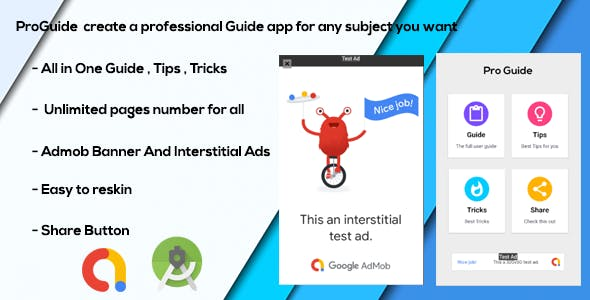 All In One ProGuide - Guide - Tips - Tricks With Admob