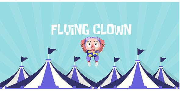 Flying Clown - Buildbox Template