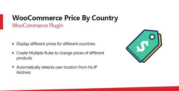 WooCommerce Price By Country Plugin - CodeCanyon Item for Sale