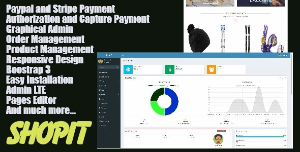 ShopIt - Laravel eCommerce Site with Paypal and Stripe authorize and capture payments - CodeCanyon Item for Sale