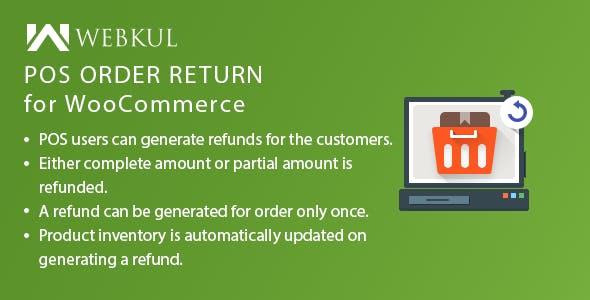 POS Order Return Plugin for WooCommerce