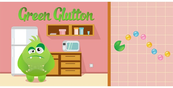 Green Glutton - Buildbox Template - CodeCanyon Item for Sale