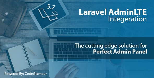 Laravel AdminLTE Integration + User CRUD - CodeCanyon Item for Sale
