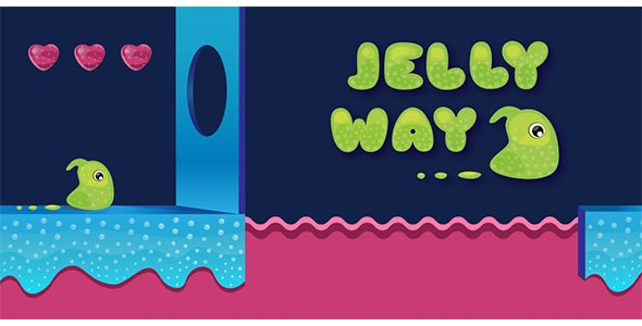 Jelly way - Buildbox Template - CodeCanyon Item for Sale