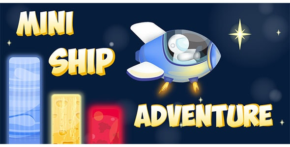 Mini Ship Adventure - Buildbox Template - CodeCanyon Item for Sale