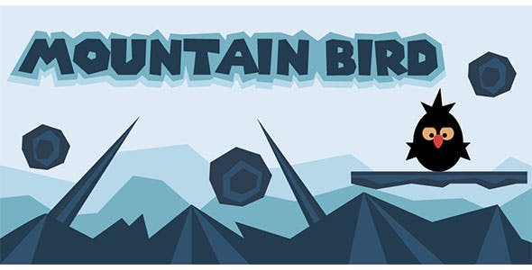 Mountain bird - Buildbox Template