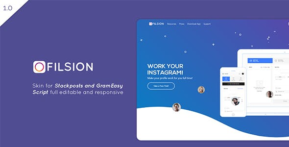 FilsionSkin – Stackposts and GramEasy Theme