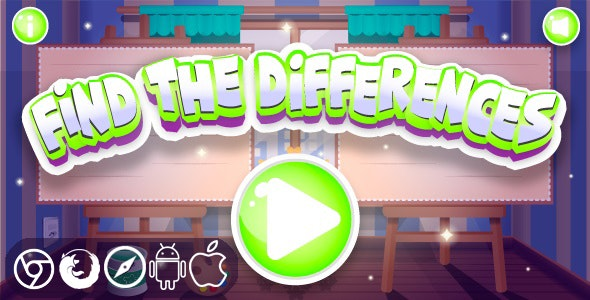 Find The Differences - HTML5 Game - CodeCanyon Item for Sale
