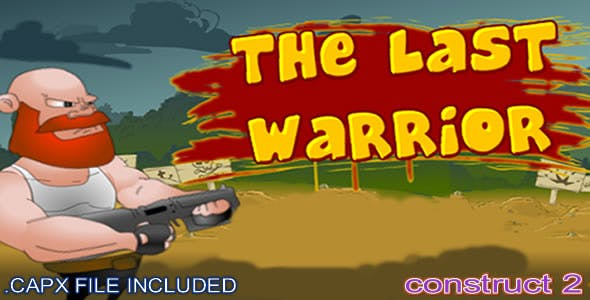 The Last Warrior - (C2, C3 HTML5) Game