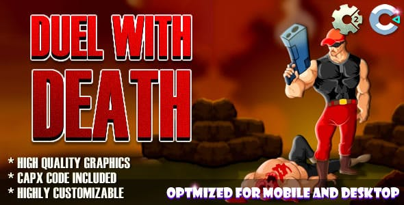 Duel With Death (C2,C3,HTML5) Game.