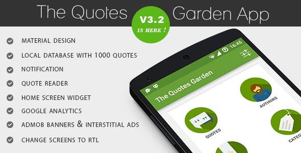 The Quotes Garden v3.2
