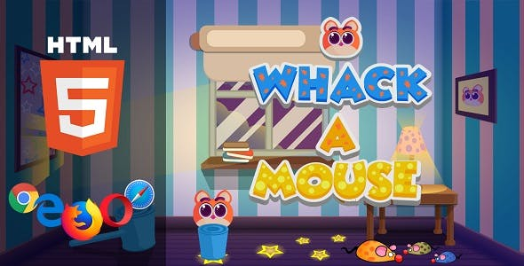 Whack a Mouse - HTML5 Game - CodeCanyon Item for Sale