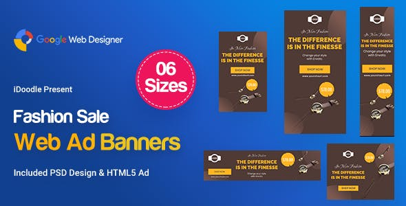 Fashion Sale Banners HTML5 D47 Ad