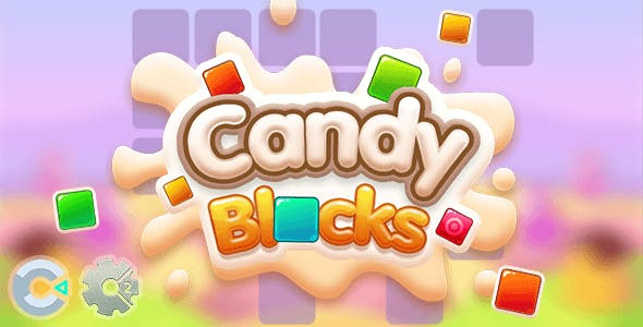 Candy Blocks - HTML5 Puzzle Game (Construct 2/3)