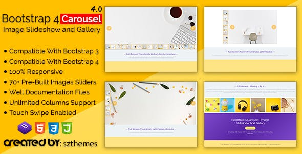 bb0fc968e7d7 Bootstrap 4 Carousel - Image Slideshow and Gallery - CodeCanyon Item for  Sale