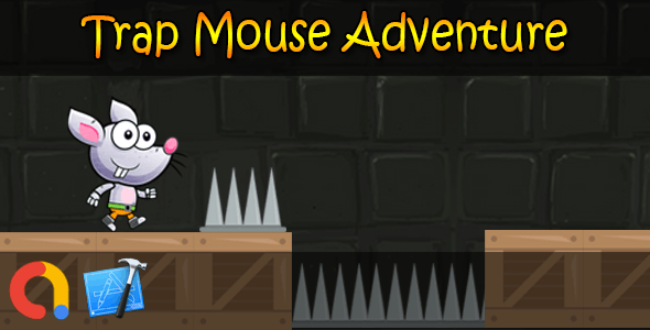 Trap Mouse Dangerous Adventure - iOS Xcode 10 + Admob